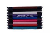 Three fold Crazy Horse Pattern Folio Stand PU Case For Samsung Galaxy Tab 4 7.0 T230