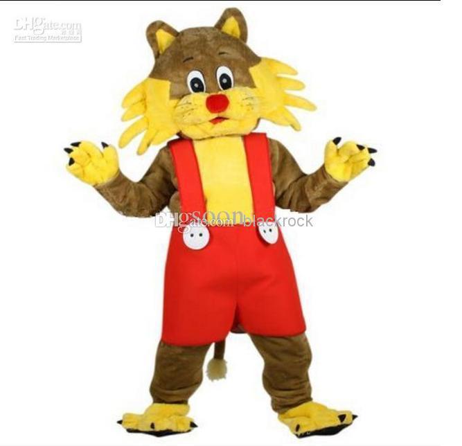 2014 Hot sale NEW TOP CAT Professional Cat Mascot Costume Adult Fancy Dress Cartoon(China (Mainland))