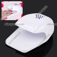 Portable Ladies Women Nail Art Hand Finger Toe Varnish Dryer Tip Polish Gel Cure Curing Fast Drying Blower Fan Manicure Machine