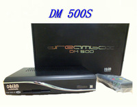 Free Shipping Set top box DM 500s Digital Decoder or DM500S Satellite Receiver Support CCCAM