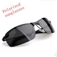 2014 New Fashion Summer Sport Male sunglasses polarized sun glasses aluminum magnesium alloy Polaroid Sunglasses free shipping