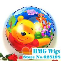 """Balloon Birthday Party Decoration Winnie balloon  Baby Kids Cartoon Balloons Gift  10pcs/lot  18"""""""