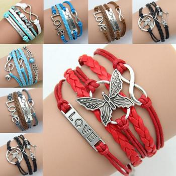 Sunshine jewelry store Женщиныs Bracelets Модный Vintage Бабочка Rudder Rectangle ...