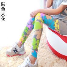 2015 new women s cotton printed graffiti leggings nine women