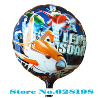 "Balloon Birthday Party Decoration plane balloon  Baby Kids Cartoon Balloons Gift  10pcs/lot  18"""