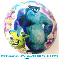 Balloon happy Birthday Party Decoration Monsters  balloon  Baby Kids Cartoon Balloons Gift  10pcs/lot  18""