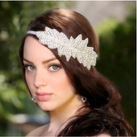 high quality Rhinestones bride headband head loop hair band wedding dress accessories hair ornaments retail sale