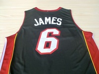 #6 Lebron James Brand New Jerseys Classical Black Basketball Jersey