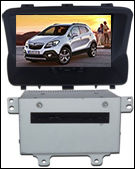 Wholesales Capacitive Android 4.1 OPEL Mokka Car DVD Radio GPS Navigation with OBD BT 3G WiFi Multi-touch CPU 1.5GHZ ROM 8G