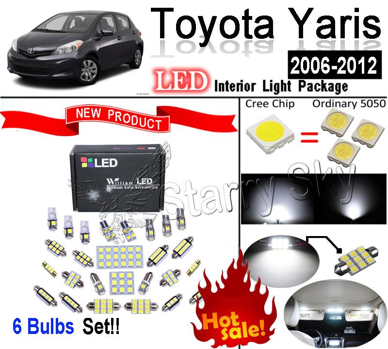 Лампа для чтения William LED 6 51SMD Toyota Yaris 2006 лампа led