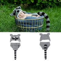 Free Shipping Fotografia Newborn Girl Boy Infant Newborn Beanie Knit Crochet Baby Photography Props Costume Outfits