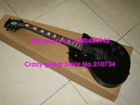Wholesale -New Arrival Black Custom Mahogany Electric Guitar Wholesale High Quality Cheap