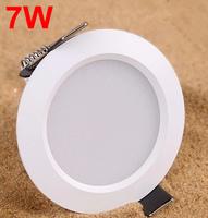 Recessed led Spotlight 7W AC85-265V Ceiling Lamp LED Spot light Aluminum Material Downlight LED for Home Decoration