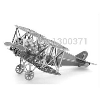 8 Models 3D Metal Puzzle DIY Jigsaw Model Educational Toys Ferris Wheel Eiffel Tower mustang 17(China (Mainland))