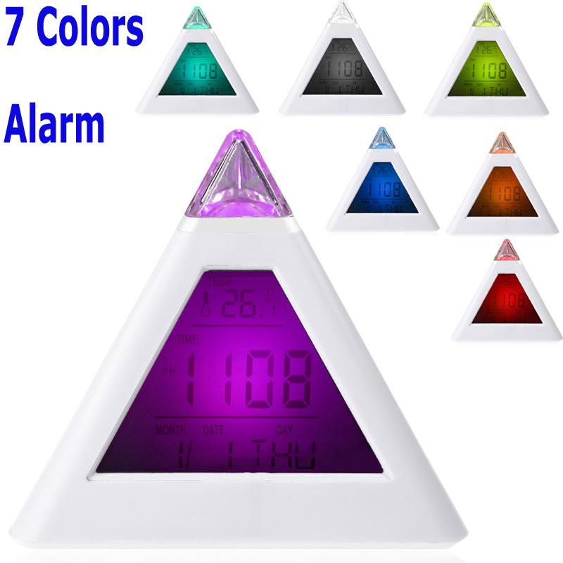 Будильник OEM 7 LCD C/F Despertador H10296 вольтметр oem lcd