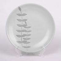Promotion!!!Elegant tableware fine ceramics western dishes ceramic flat plate dish+Free shipping
