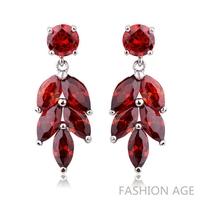 2014 New design Swiss Zircon Dangle Earrings exaggerated Austrian Crystal women's Drop earrings Platinum plated earrings(FE-98)