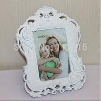 2014 new  fashion brief personalized photo frame vintage plastic photo frame wedding gift