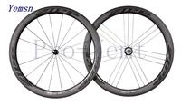 ZIPPo 404 Firecrst 50mm clincher bike wheels,700c carbon fiber road/racing wheelset white logo,Basalt,R36 ceramic bearing,Ti-QR