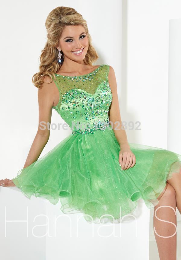 Light Green Homecoming Dress - Missy Dress
