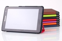"""Slim PU Leather Stand Cover for Lenovo A5500,PU Leather tablet case for Lenovo a8-50 8"""" tablet,can mix color"""