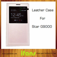 Original Leather Case For China Mobile Smart Phone 5.2 inch Screen Star G9000 MTK6592