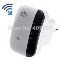 Universal 300Mbps Amplificador repeater Mini Router WLAN Repetidor Wifi Inalambrico N 300 Mbit UK US EU Spain Plug, +Retail Box