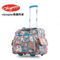 olympia women trolley bag trolley luggage bag luggage suitcases short