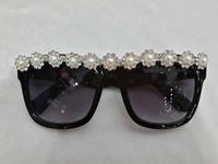 Free shipping Sunglasses Diamond Crystal Glasses New Design Women glasses