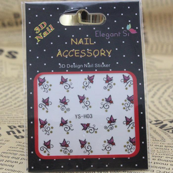 Wholesale Korea imported advanced nail sticker Y0079(China (Mainland))