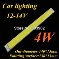 Good quality COB Car lighting 4W Strip led diode 140x13mm light source 300mA(CE&Rosh)