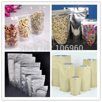 clear-clear, clear-silver, silver-silver ,craft papery stand up zip lock bags total 7000pcs