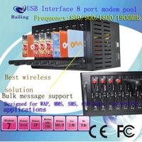 3G MODEM POOL,UC15-E 8 port 3G bulk sms terminal