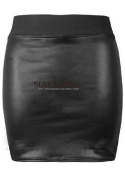 Latest Designs Женщины's Модный Summer Cool Bright Черный Elastic Bodycon Кожа ...