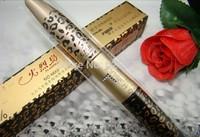 Hot Selling, 2014 New Leopard Waterproof Eye Lash Lengthening Extension Eyelash Transplanting Gel Fiber Mascara Makeup Cosmetics
