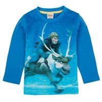 2~6Y 2014 new fashion brand spring autumn children kids boys cartoon casual frozen cotton long sleeve t shirt clothing
