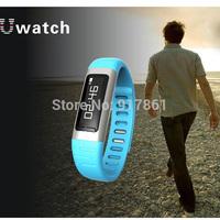 U9 Bluetooth SmartWrist Watch Phone Mate For iphone Samsung Sony HTC HUAWEI Blue