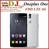 "OnePlus One LTE Phone Snapdragon 801 Quad core 2.5G 3GB Ram 16/64GB ROM cyanogenmod CM11S 5.5""FHD Corning Gorilla 13.0Mp Camera"