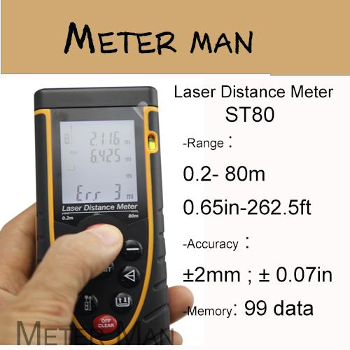 Лазерный дальномер Meter Man 80 262,5 ST80