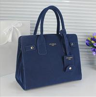 New Vintage Women Big Shoulder Messenger Bag Textured Matte Faux Leather Ladies Tote Handbag Black Blue Green