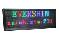 DIY RGB Full Color Store Window  LED Sign  Module 6 pcs+ 1PC power Supply + 1PC LED Controller +1set Frame