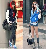 New Korean Style Hoodie Casual Sport Suit Baseball Costumes Coat Female Sportswear Jacket A Letter Outwear Tops moleton feminino