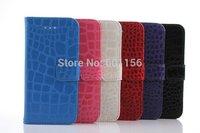 For lphone 6 Crocodile Case Leather Wallet Skin Credit Card /Money Holder Cover