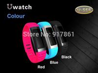 2014 U9 Smart Bluetooth Wrist Watch Bracelet Waterproof Support WIFI Hotspots Free Shipping