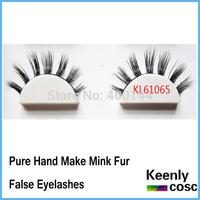 Fastest Shipping! Hot 100% mink fur eyelash, handmade mink strip lash,seberian mink eyelash