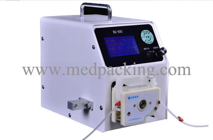 BG-600DG1 (semi) automatic liquid filling pump titration, packaging,Precision filling machines(China (Mainland))