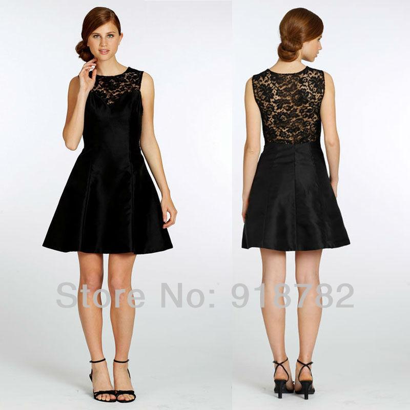Black Lace Bridesmaid Dresses Black Bridesmaid Dresses