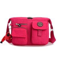 New!!!10 Colors Casual Women Messenger Bags Waterproof Anti-tear Kip Women's Handbag Canvas Travel Bag Women Crossbody Bags