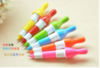 Bowling retractable ballpoint pen Creative retractable pen stationery wholesale