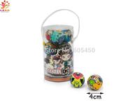 Wholesale hotsale expression Stress ball Joking PU ball 4.0cm Dia 12pcs/bag  Fast delivery  pu cricket ball